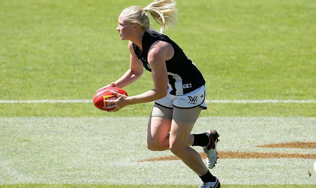 Collingwood's Sarah D'Arcy has been offered a three-match suspension by the Match Review Panel.
