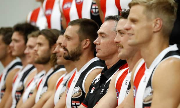 AFL 2017 Media - St Kilda Team Photo Day