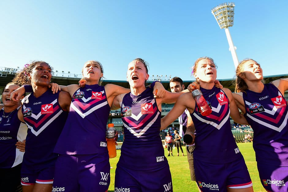 Fremantle's AFLW team will be the first side to play football at the new Perth Stadium - AFLW,Fremantle Dockers,Perth Stadium