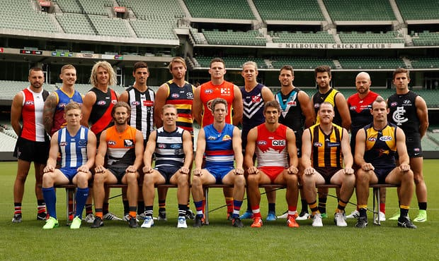 AFL 2017 Portraits - AFL Captains Day