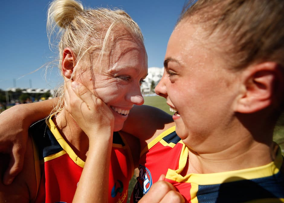 Erin Phillips and Ebony Marinoff have been outstanding for the Crows - AFLW