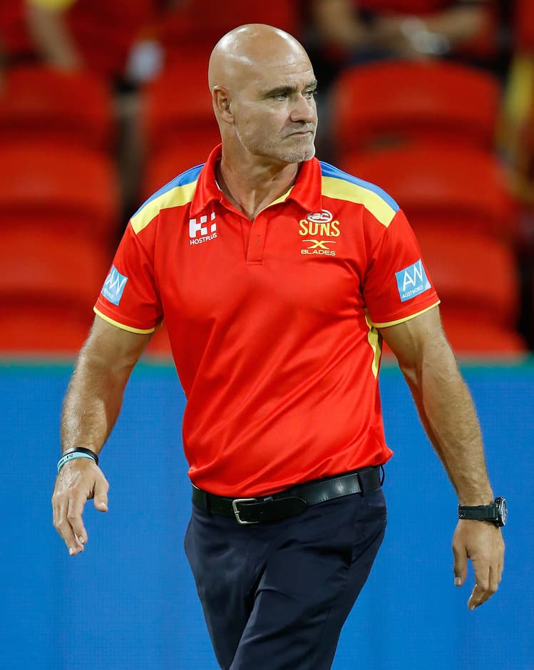 Andy Lovell is a well-respected assistant at Gold Coast - AFL