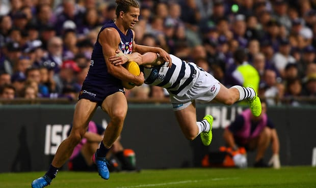 AFL 2017 Round 01 - Fremantle v Geelong