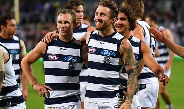 Joel Selwood joins Zach Tuohy and the crew on this week's podcast. - Geelong Cats