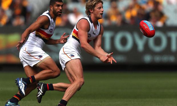 AFL 2017 Round 02 - Hawthorn v Adelaide Crows
