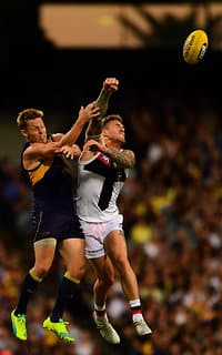 Tim Membrey spoils Sam Mitchell