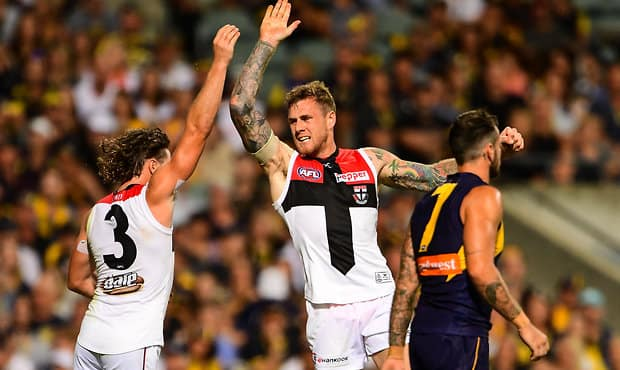 AFL 2017 Round 02 - West Coast v St Kilda