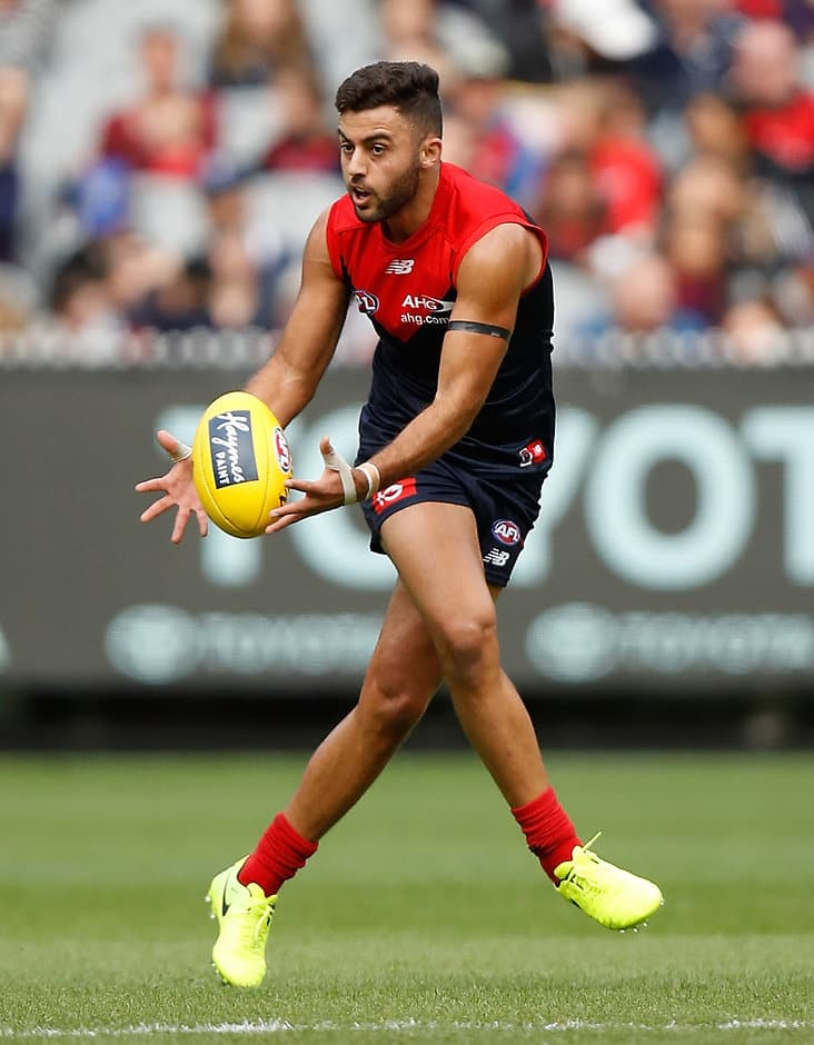 Christian Salem enjoyed a career-best game against Carlton - ${keywords}