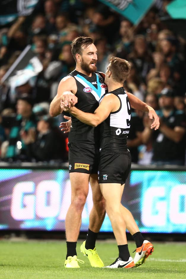 Charlie Dixon says he doesn't understand why Robbie Gray was suspended - AFL,Port Adelaide Power,Charlie Dixon,Robbie Gray,Tribunal
