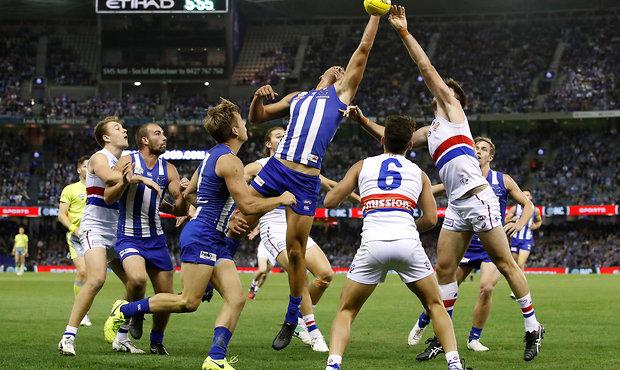 AFL 2017 Round 04 - North Melbourne v Western Bulldogs