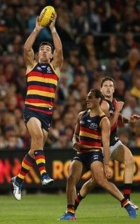AFL 2017 Round 04 - Adelaide Crows v Essendon