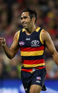 Eddie Betts put a difficult week behind him by taking the lead in the Coleman Medal race