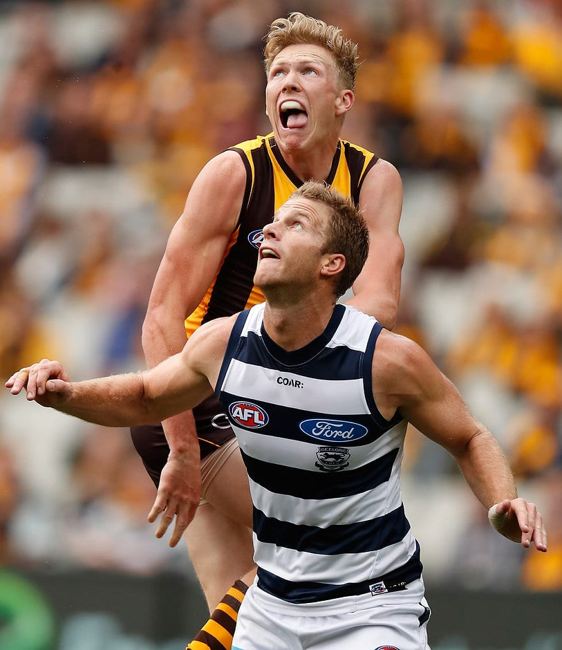 Henderson will be a crucial cog in the Cats defence this week.  - Geelong Cats