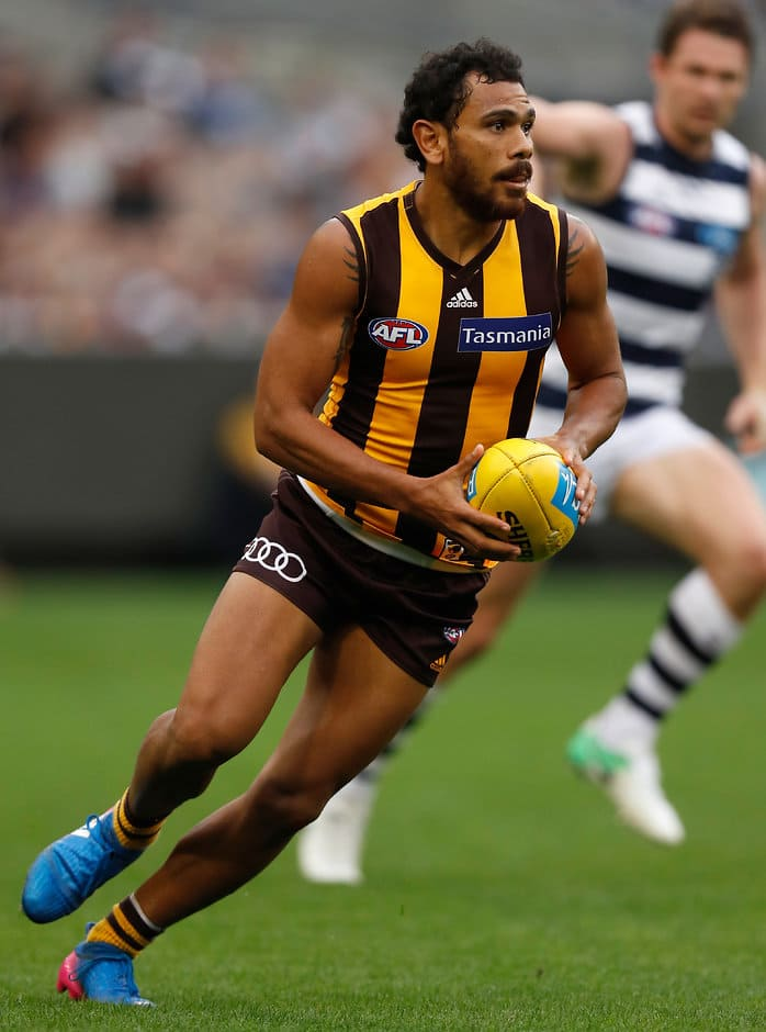 Cyril Rioli is yet to return to Hawthorn from compassionate leave - AFL,Hawthorn Hawks,Ben McEvoy,Cyril Rioli