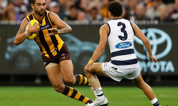 Shaun Burgoyne is the AFL's oldest player in 2018 - Geelong Cats