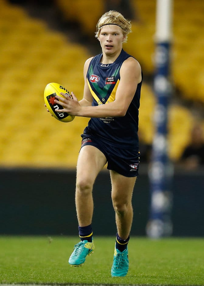 Jack Powell in action for the AFL Academy - ${keywords}