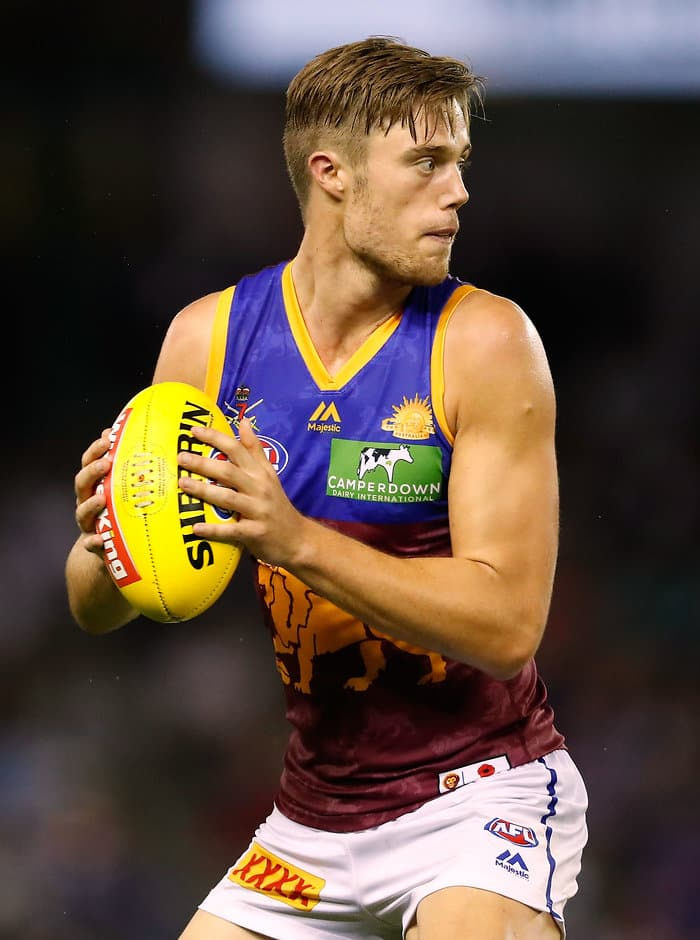Josh Schache was left out of Brisbane's side to take on Adelaide - ${keywords}