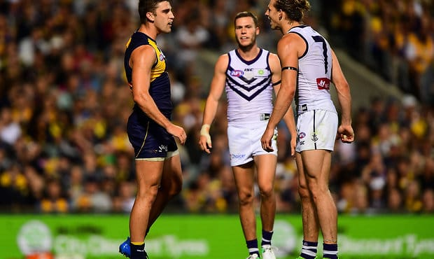 Fremantle and West Coast will face off in JLT2 at HBF Arena on Sunday