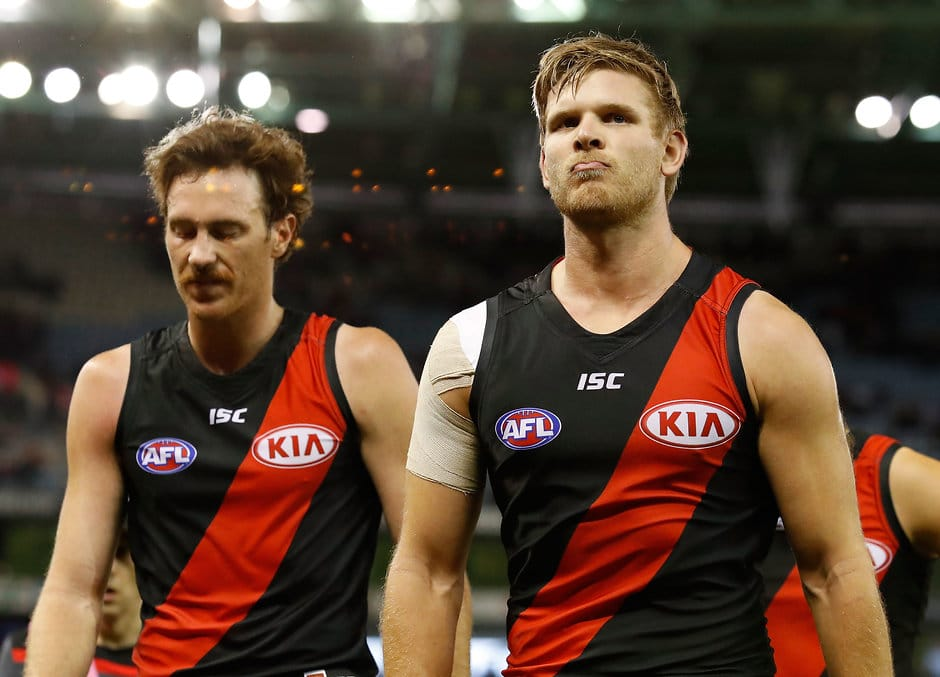 Bomber Michael Hurley is one of 12 players out to break a run of three elimination final losses - AFL,Stats Files,Essendon Bombers