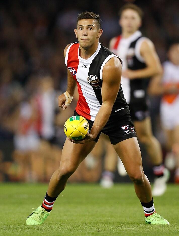 Darren Minchington has suffered a left knee injury - AFL,St Kilda Saints,Darren Minchington,Simon Lethlean