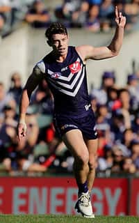 Lachie Neale was the game's leading possession-winner with 40 disposals