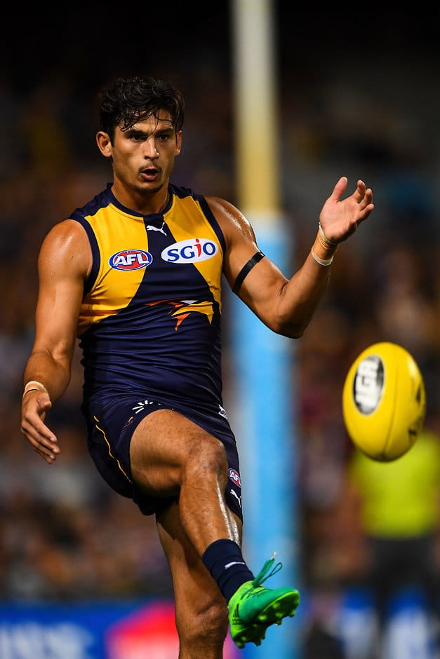 Sharrod Wellingham has signed with West Coast's affiliate East Perth - AFL,Contracts,WAFL