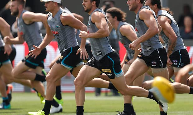 AFL 2017 Training - Port Adelaide 130517
