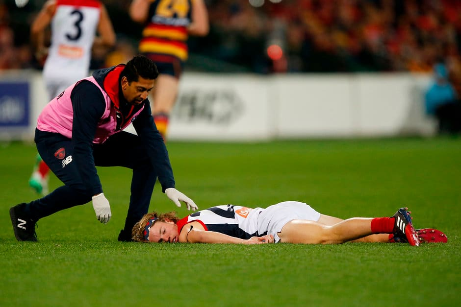 Injury Survey Games Lost To Concussion On The Rise Afl