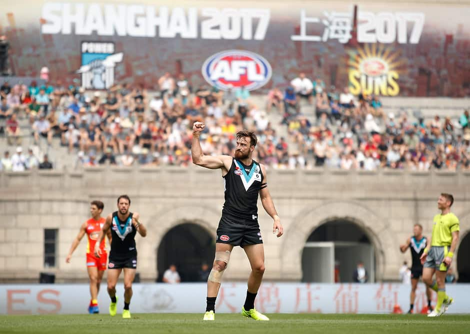 Port Adelaide welcomes Shanghai 2018 game announcement
