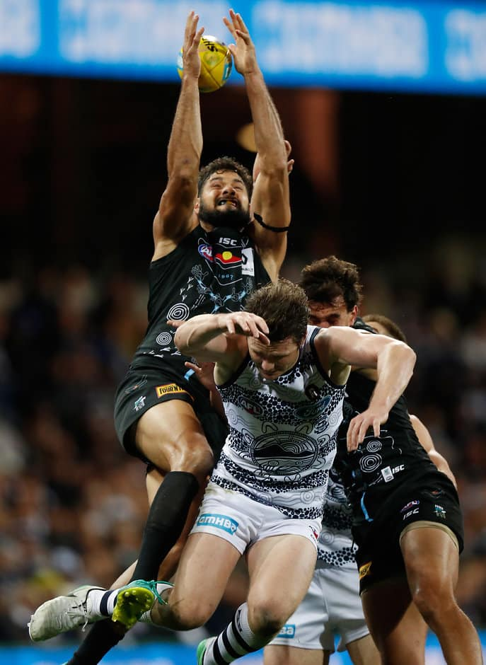 Port Adelaide and Geelong will be the first to clash in AFLX - AFLX