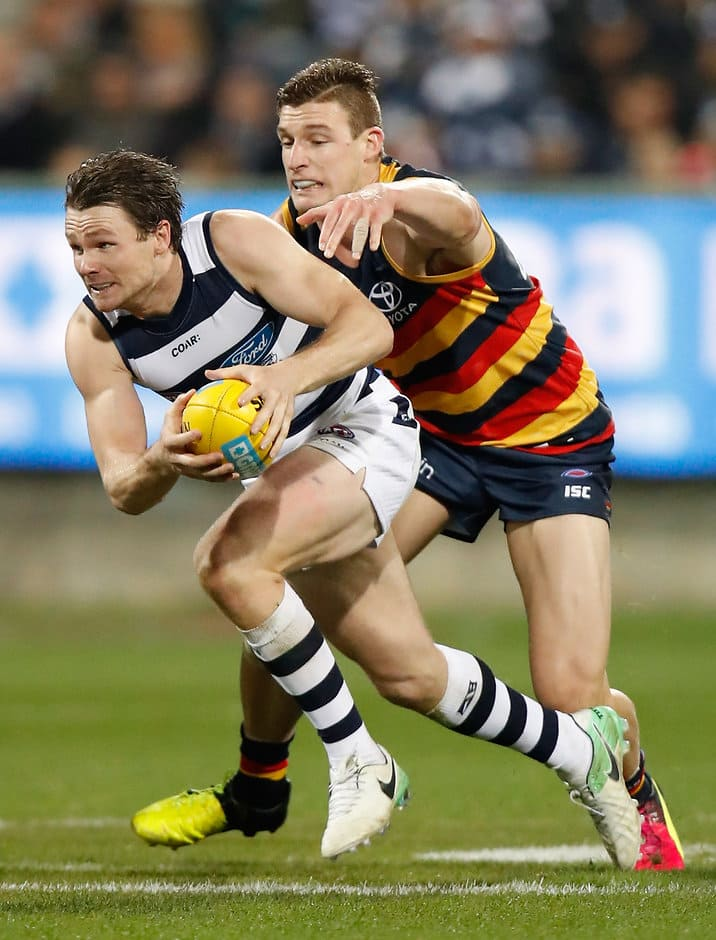 Patrick Dangerfield and Josh Jenkins will renew acquaintances in Friday night's preliminary final - AFL,Patrick Dangerfield,Dustin Martin,After the Siren,column