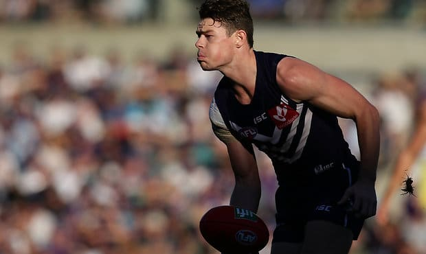2016 Doig Medallist Lachie Neale has been one of Freo's strongest performers in 2017.