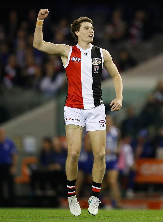 Blake Acres has signed a new deal keeping him with the Saints until the end of 2020 - AFL,Blake Acres,St Kilda Saints,Contracts