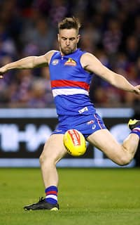 Matthew Suckling will test his left leg out against the competition's best on Saturday, in FOX FOOTY's longest kick competition. - Katie Brennan,Matthew Suckling,Western Bulldogs