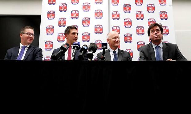 AFL 2017 Media - AFLPA and AFL Press Conference