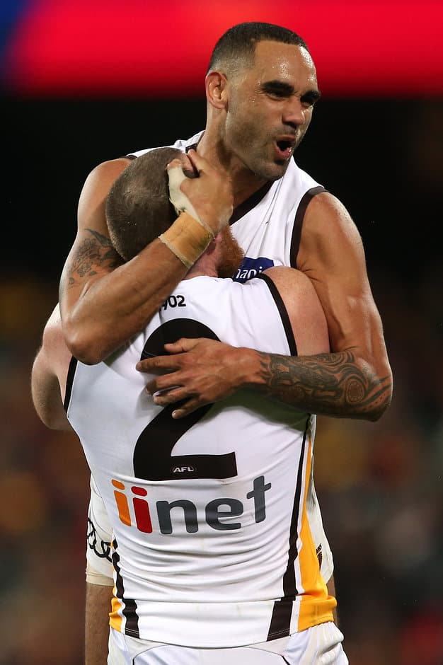 Shaun Burgoyne was one of the Hawks' best - ${keywords}
