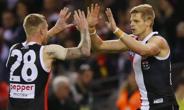 Champion forward Nick Riewoldt might have only three weeks left if the Saints don't qualify for the finals.