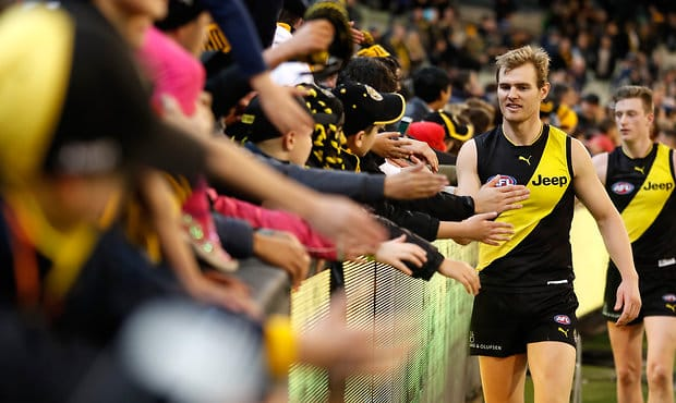 Richmond finished the home-and-away season with an aggregate attendance of 1,024,751