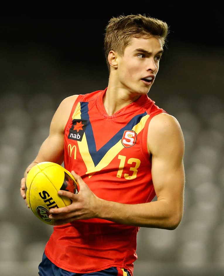 Jackson Edwards shone in SA's big win over Vic Country - AFL,Draft,Under-18s,Jackson Edwards