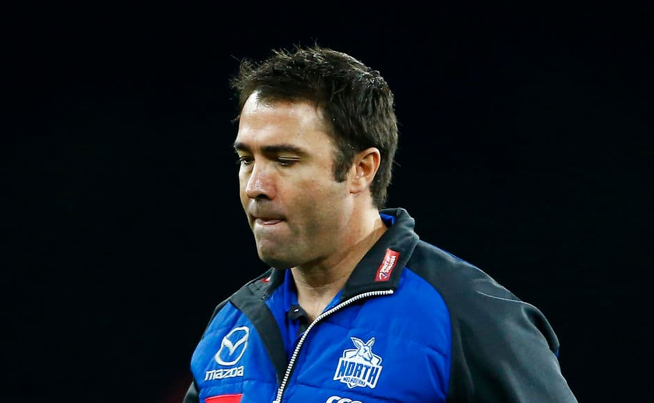 If you keep telling us you are fully committed to coach this club ... then - AFL,column,Sliding Doors