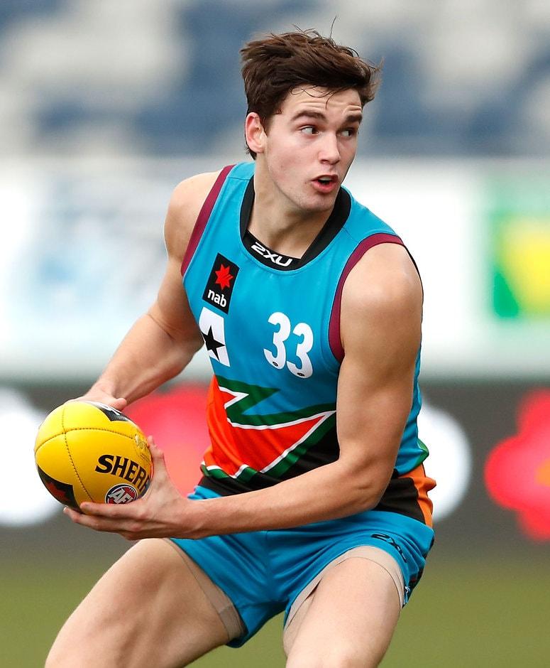 Jarrod Brander kicked three goals against Vic Metro - AFL,Draft,Under-18s,Jarrod Brander