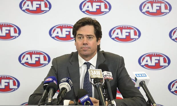 Two senior AFL executives resign over 'inappropriate relationships' with younger employees