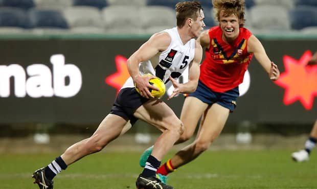 New Saint Ben Paton earned All-Australian selection after starring for Vic Country in the middle of the season.