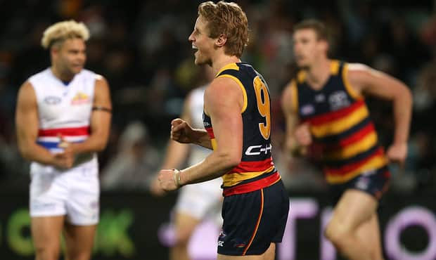 Rory Sloane earned 20 votes at the 2017 Brownlow Medal count - Adelaide Crows,Brownlow