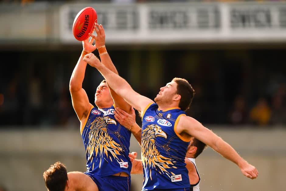 Tom Barrass and Jeremy McGovern are key elements in the Eagles backline - AFL,Contracts,West Coast Eagles,Tom Barrass,Jeremy McGovern