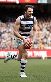 Patrick Dangerfield booted 5.6 in a remarkable display
