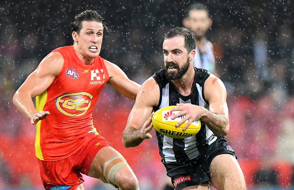 AFL 2017 Round 17 - Gold Coast v Collingwood