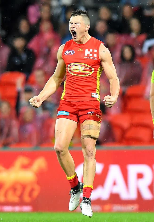 Ben Ainsworth is likely to move to the Suns' midfield in the future - AFL,Rising Star,Ben Ainsworth,Gold Coast Suns