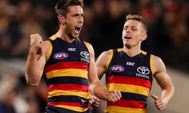 Adelaide strengthened its spot in first place on the AFL ladder with a win over Geelong