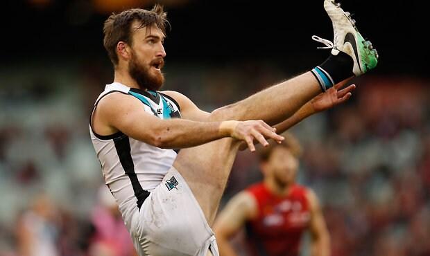 AFL 2017 Round 18 - Melbourne v Port Adelaide